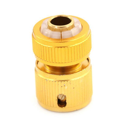 Aluminum Hose Tube Fitting Adapter Garden Home Water Pipe Tap Quick Connector LR