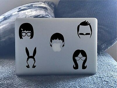 Bobs Burgers Graphic Decals, Family sticker pack.