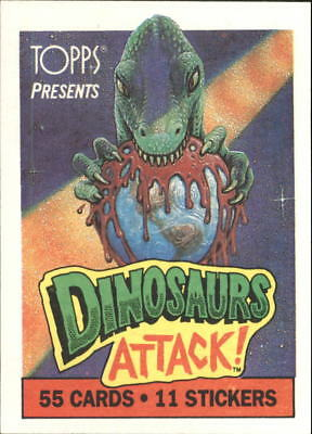 1988 Dinosaurs Attack (Pick Card From List)