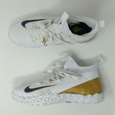 Nike Alpha Huarache 6 Elite Tf Lax Le White/gold/court Purple (923423-155)