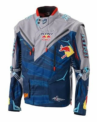 Ktm Kini-Red Bull Competition Jacket Grey/blue Mx Enduro Was $239.99 Now $199.99