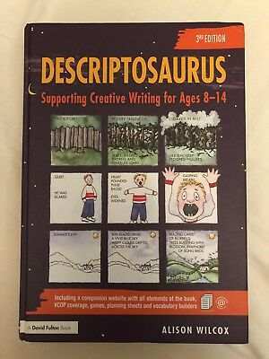 Descriptosaurus Supporting Creative Writing Age 8 14 9781138093027 Hardcover