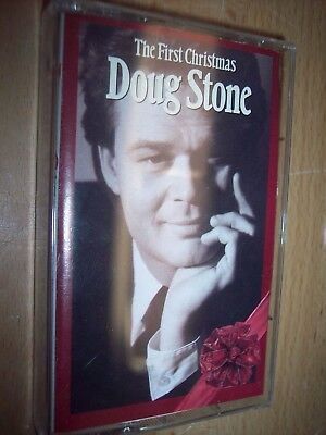 1992 Doug Stone The First Christmas Cassette