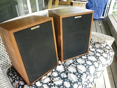 KLIPSCH HERESY MATCHED Pair, HWO, Sequential Numbers, Mint