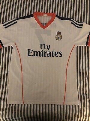 official photos 1df5f 6fff1 Cristiano Ronaldo soccer jersey youth Emirates Shirt Tee Real Madrid  Portugal #7
