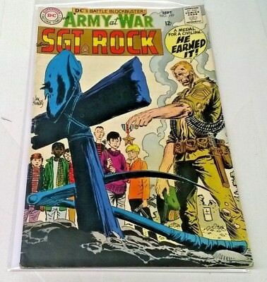 Our Army at War #197 (Sep 1968, DC) Sgt. Rock FN Silver Age