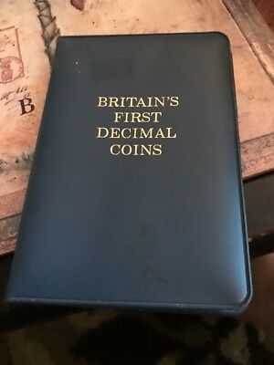 Collectors 1968 Great Britain 5 Coin Britain's First Decimal Coins Set