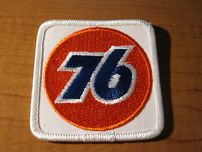Vintage UNION 76 Service Station Gas & Oil Embroidered Cloth PATCH New Old Stock