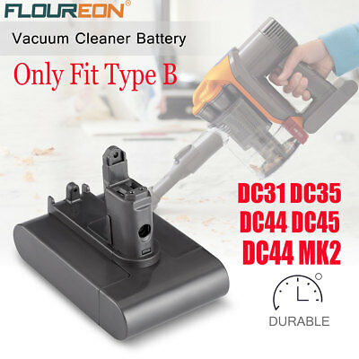 3000mAh Type A Battery For Dyson DC31 Animal DC34 DC35 DC44 Vacuum Cleaner 22.2V