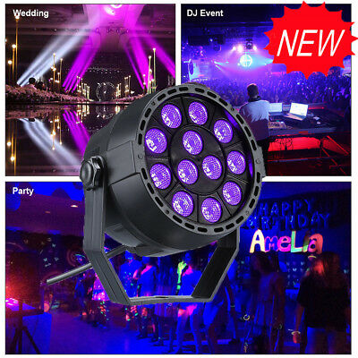 1~4pcs Disco Party UV DMX DJ LED Stage Effect Light Lighting Lamp Ball Christmas