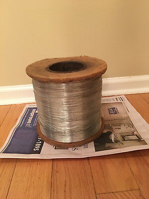 Large Spool of Metal Wire Small Gauge