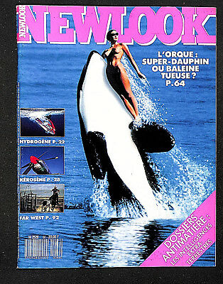 Revue Newlook 66  -  Fevrier  1989  -  Comme Neuf -