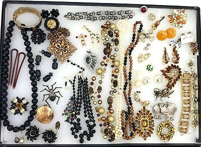 High End Vintage Costume Jewelry Estate Lot of 55 Pieces - Signed - Pristine