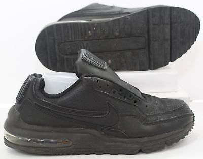 more photos 2589d dcb16 Mens Nike Air Max LTD 3 Triple Black Athletic Sneakers Running Shoes Size  8.5