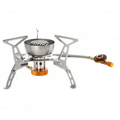 AOTU Fission portable stove outdoor camping outside picnic wind furnace gas R9U2