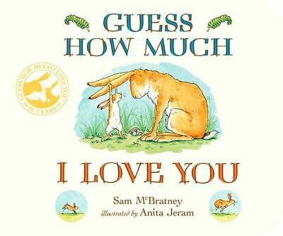 NEW Guess How Much I Love You By Sam McBratney Board Book Free Shipping