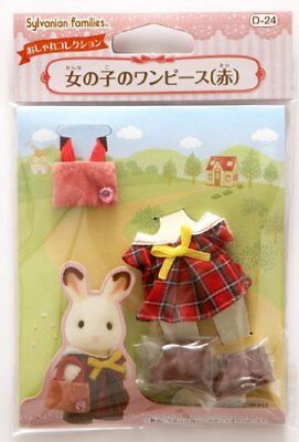 Figure Sylvanian Families RED ONE-PIECE FOR GIRLS Epoch Calico Critters SB