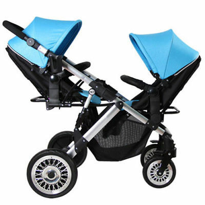 2018 Contours Options Elite Twin Tandem Double Baby Stroller Sand