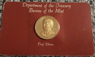 1977 Jimmy Carter Proof Edition Coin