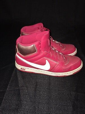 d00e52501 Nike Basketball Shoes Size 11 Fashion Sneakers Red Lace Up High Top Ankle  Laces