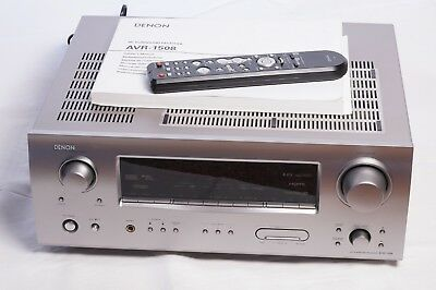 DENON AVR-1508 7 1 7x75w +RC-1076 AV Home Cinema Surround Receiver HDMI  Switcher
