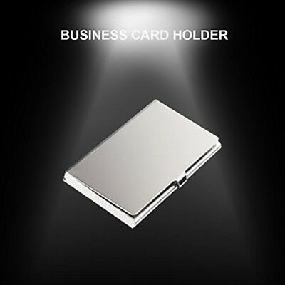 Business Card Case, BestOff 13 Pcs Capacity Stainless Steel Credit Card Holder