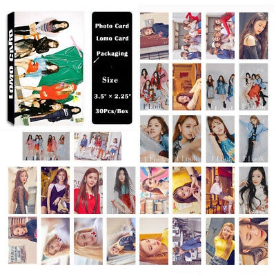 30Pc/set KPOP (G)-IDLE G-IDLE Gidle Album Photo Card Poster Lomo Card Bookmark