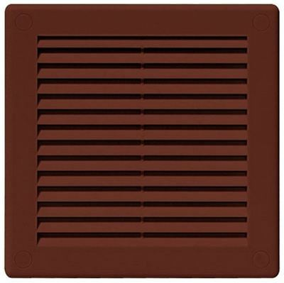 Air Vent Grille Brown Wall Ducting Ventilation Cover Sizes 300 x 300mm