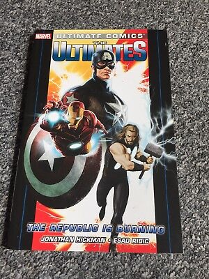 Marvel comics: The Ultimates (The Republic Is Burning, 2012)