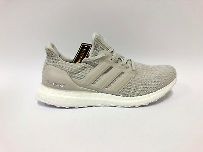 half off c6295 b80f0 Super Rare Sample Adidas Men's Ultra Boost 4.0 Chalk Pearl New Shoes US  Size 9