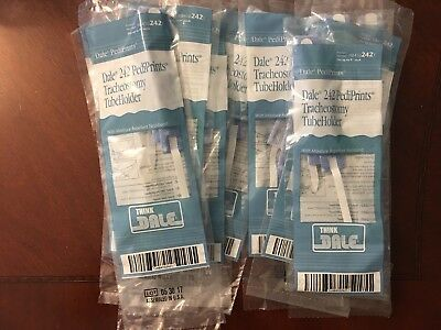 "Dale Pediprints #242 Trache Tube Box of 10 Fits up to 9"" (23cm) Neck Fast Ship!!"