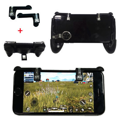 Mobile Phone Gaming Trigger Fire Button Handle For L1R1 Shooter Controller PUBG