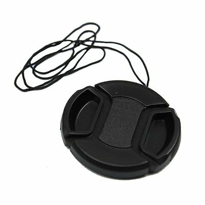 52mm Lens Cap Cover Snap-on for any camera with 52 filter thread size Lens