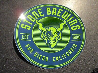 MYSTIC BREWERY Saison Renaud Circle STICKER decal craft beer brewery brewing