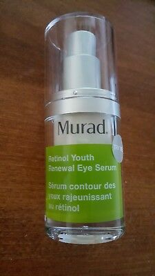 28 BOTTLES MURAD RETINOL YOUTH RENEWAL EYE SERUM trial size 0 17 FL