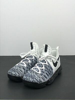 wholesale dealer 5d9bd 88ea8 Nike Zoom KD 9 (GS)  Oreo  855908-100 White Black