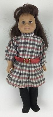 American Girl Addy MINI doll Meet Outfit dress tights boots NWOB