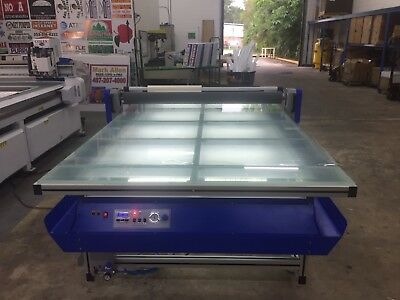 Flatbed Laminator Aplicator Hot/Cold LED Signs & Graphics