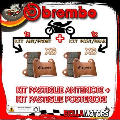 Brpads-566 Kit Pastiglie Freno Brembo Piaggio Beverly Sport Touring Ie Abs 2012-
