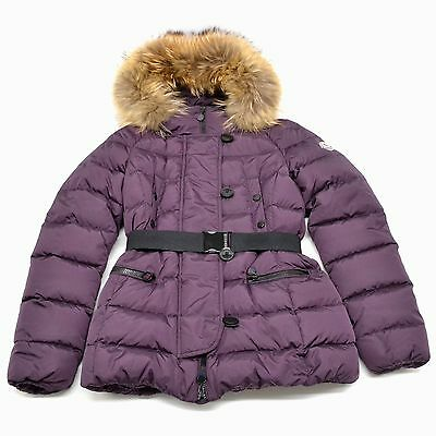 e70cf2609 Authentic Moncler Quilted Puffer Outer Down Coat Gene Jacket Giubbotto  Women 0