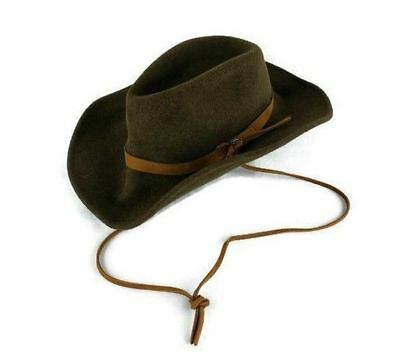bf1afaa23c939 Bailey Morgan Men Size Small Wool Lite Felt Olive Green Hat Packable Fashion