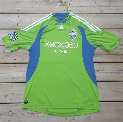 new product 7b837 1e7c2 SEATTLE SOUNDERS SOCCER Jersey Size Large Men's MLS