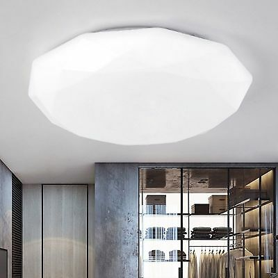 Ultra Bright Round LED Ceiling Down Light Kitchen Bedroom Living Recessed Lamp