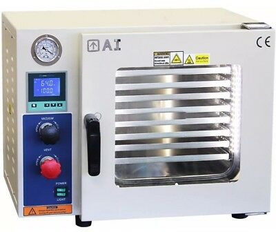 Across International Ai AccuTemp 220V 0.9 Cu Ft 5 Sided Vacuum Oven LED