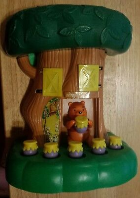 Vintage 1970's Sears Catalog Winnie The Pooh Honey Tree Activity Toy