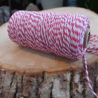 Fuchsia Bakers Twine Decorative Craft String (110 Yards)