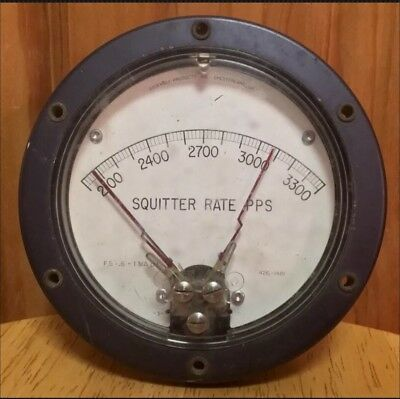 Assembly Products Ohio USA VINTAGE AVIATION METER GAUGE