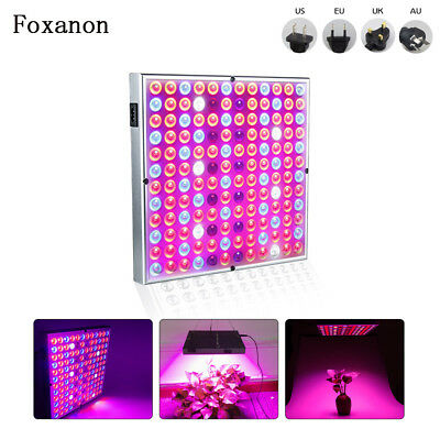 45W Full Spectrum LED Grow Light Bulb Panel Hydroponic Indoor Plant Flower Lamp