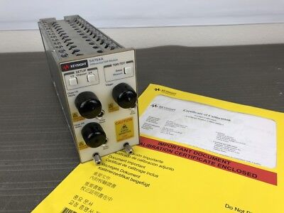 Keysight Agilent 54754A Differential & Single Ended TDR/TDT Module, 86100 CAL'D!