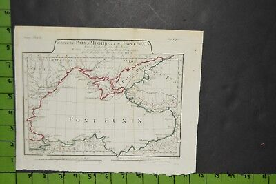 Antique 1796 Map of Ancient Greek Empire